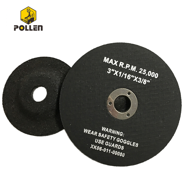 "3Inch Metal Cut off Wheels-For Cutting Metal and Steel-To Use with Angle Grinders-3""x1/16""x3/8"" Max PRM 20000 80m/s"